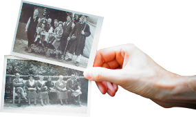 hands vintage isolated pack