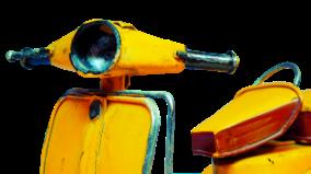 motorcycle yellow
