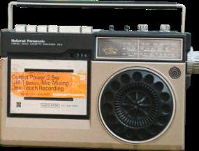 old radio retro vintage pack